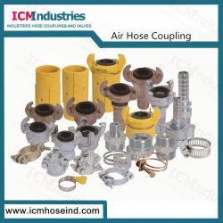 Universal Type européen de couplage de l'air, l'Accouplement flexible à air, Compresseur accouplements à griffes