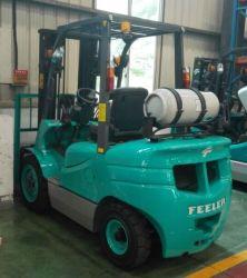 3.0T бензин газовый погрузчик с Nissan K25 гидравлической трансмиссии