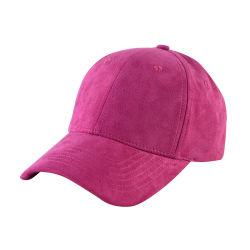 جودة ممتازة Unisex faux Suede قبعات البيسبول مع شعار مخصص