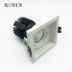 Riflettore dell'interno Downlight di fattore di alto potere del soffitto della lampada 15W dell'indicatore luminoso del punto di illuminazione MR16 della PANNOCCHIA del LED
