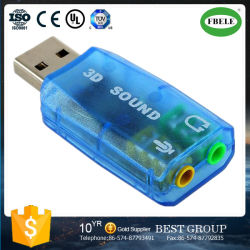 Transparent Carte son USB externe lecteur de Carte son USB5.1 gratuit