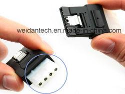 IDE 4pin ATX 4pのアダプターへのSATA15p