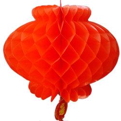 [2بكس] قرص عسل تقليديّة بلاستيكيّة سنة جديدة [شنس] [سبرينغ فستيفل] زخرفة أحمر فانوس