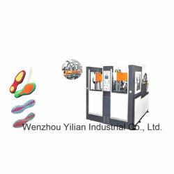 Twee Kleur Twee het Vormen van de Injectie van de Schoen van de Post Tr/TPU Verticale Enige Machine