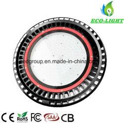 Indicatore luminoso 100W della baia del UFO LED di AC85-277V alto con 150lm/W CRI80 e 3030SMD Bridgelux o indicatore luminoso industriale di Filips 3030 LED