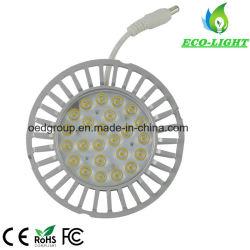 Geen koelventilator 25W AR111 Spotlight met aluminium radiator Ar 111 en Osam LED Chip CRI 82