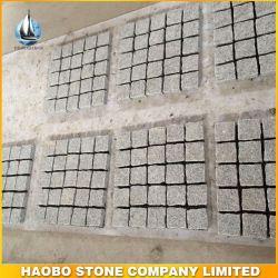Природного гранита Cube камня в саду или альбомной ориентации проекта