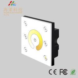 12-24 V c.c. zone unique de couleur en vogue voyant de température du contrôleur de panneau tactile