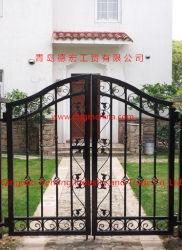 Ornementales élégant petit côté de la porte en métal/Gate/entrée latérale
