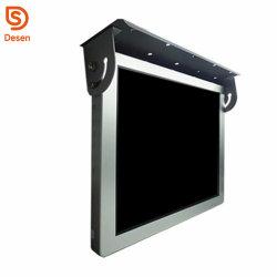 Stable de 19 pouces écran LCD à LED de bus de la publicité pour la délivrance de l'information et de la publicité