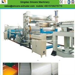 PE/PP/PVC/ABS/HDPE Hoja gruesa/placa y el cartón que hace la máquina de extrusión Extrusión/