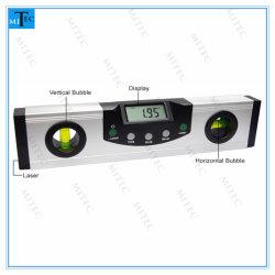 Medidor de ângulo da Ferramenta de Medição de Nível de Bolha Digital Magnética Laser