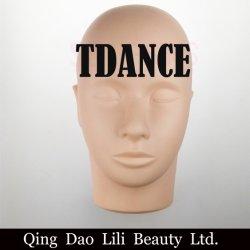 Lili la belleza de la cabeza maniquí de alta calidad para el pelo pestañas herramienta de formación práctica de extensión de pestañas individuales