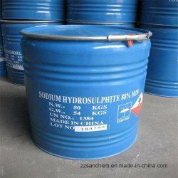 Le Sodium Hydrosulphate 85 % 88 % 90 % /Shs hydrosulfite de sodium avec prix d'usine