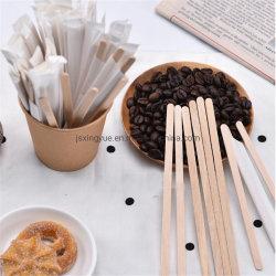 처분할 수 있는 대나무 커피 혼란 지팡이 칵테일 주스 음료 대나무 커피 교반기