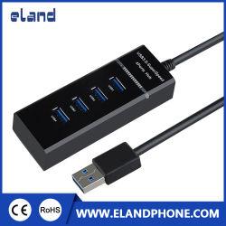 Commerce de gros haute vitesse 4 port hub USB 3.0