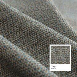 Das Rayon-Polyester-Sofa-und Vorhang-Polsterung-Gewebe Leinen-Schauen, das nach Büro und Haus geeignet ist
