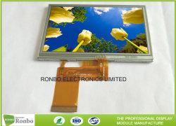 Widerstrebende Touch Screen LCD-Bildschirmanzeige, die 4.3 Bildschirm des Zoll-480*272 RGB 40pin TFT LCD verpfändet