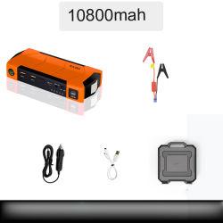 10800mAh de multifunctionele Ontsteking van de Auto van de Levering van de Macht van de Aanzet van de Sprong van de Auto 12V en Elektrische Schat met Kompas, de Hamer van de Vlucht, Scherp Mes en 3 LEIDENE Flitslichten