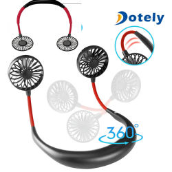 Batterie rechargeable USB portable paresseux cou ventilateur de refroidissement de la pendaison de sport