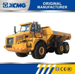 XCMG 40のトンXda40の販売のための鉱山のダンプトラックの価格を運転する6*6によって連結される石炭の左手