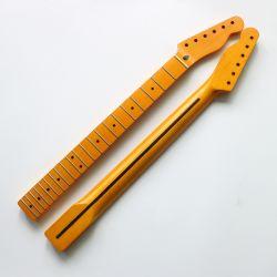 니트로 마감 Vintage One Piece Canadian Maple Tele Guitar Neck
