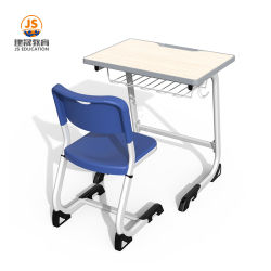 School-ergonomischer hölzerner Kursteilnehmer Chair&Desk