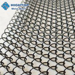 Проволочной сетки из нержавеющей стали из металлической стенки камин сетка шторки