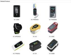 Pulsossimetro FingerTIP saturazione dell'ossigeno nel sangue Monitor per polso SpO2 all'ingrosso Sonda di frequenza cardiaca con sensore