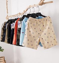 人の編まれた印刷の綿のボクサーは人の下着のズボンの良質をショートさせる