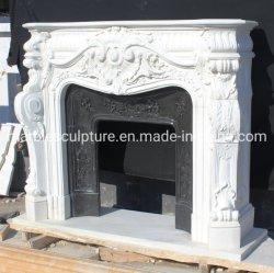 تصميم فريد لمدفأة الرخام الحجري الطبيعي للاستخدام الداخلي (SYMF-358)