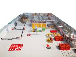 2021 새로운 디자인 작은 규모의 공장 클레이 레드 벽돌 투자
