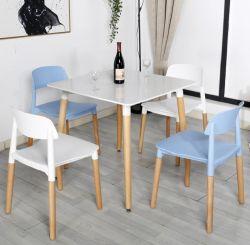 شقة صغيرة حديثة طاولة طعام بسيطة منزلية وطاولة طعام مستطيلة الشكل مطعم وجبات سريعة مزيج من 4، 6 أشخاص بسيطين
