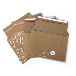 Imprimé en carton rigide CD AUTO JOINT Mailers enveloppes Séjour Mailers rigide plat