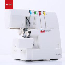 BAI Automatic 4 Thread Heavy Duty Sew Sweet Pea 모델 오버락 재봉틀기