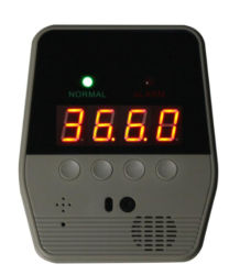 디지털 체온 측정 스캐너 발열 자동적인 적외선 온도계