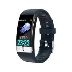 E66 Smart Montre bracelet de remise en forme de mesure de température de l'ECG Smart Band