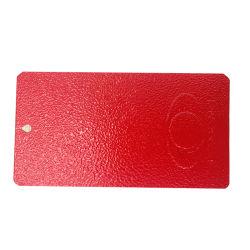 静電気のスプレーの赤いカラー平たい箱かしわRal3020の粉のコーティング