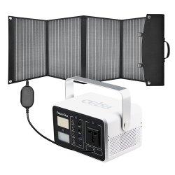 مولد كهربائي محمول للطاقة الشمسية لمولد الطاقة الشمسية الاحتياطية للطوارئ خارجي بقدرة 200 واط من مصنعي المعدات الأصلية (OEM) محطة مزودة بشاحن للوحات الشمسية