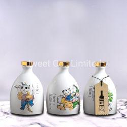 500ml Garrafa de Vinho Branco Cerâmico de amor em japonês