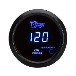 Tester universale elettronico 52mm del calibro della pressa di pressione di olio 0-120 PSI per il veicolo dell'automobile automobilistico