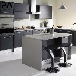 Europäische Einfache Küchengestaltung Melamin Moderne Küchenschränke Für Wohnungen