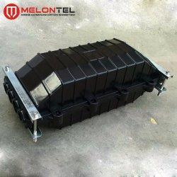 Mt-1509-144 Cina 144 core 4 in 4 out fibra ottica Contenitore giunto di chiusura con giunto di giunzione 6 PZ
