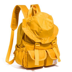 新式の帽子のショルダー・バッグの女性偶然のキャンバスのバックパック袋