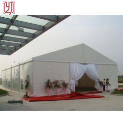 Branco tecido PVC tenda de Casamento Marquee a estrutura para venda