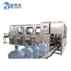 Automatisches 5 Gallonen-Zylinder-Wasser, das Monoblock Verpackungsmaschine Wahing-Füllen-Mit einer Kappe bedeckt