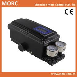 Válvula de control neumático lineal giratorio posicionador inteligente