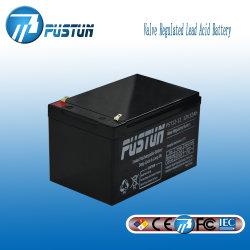 12V 12Ah batería solar, cargar la batería, batería de ciclo profundo AGM UPS