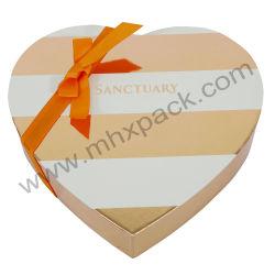 Valentine forme de coeur de l'emballage Cosmétiques Papier rigide boîte cadeau
