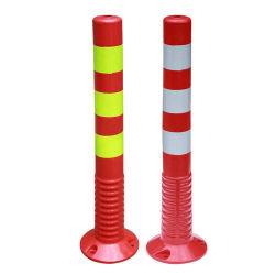 Cono d'avvertimento di traffico degli alberini della strada flessibile bassa di gomma